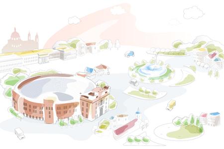 verona illustrated Illustration