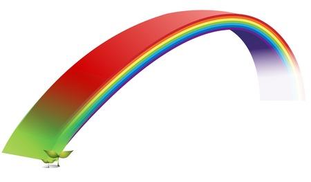 452 rainbow bridge stock vector illustration and royalty free rh 123rf com Rainbow Bridge Graphics free rainbow bridge clipart