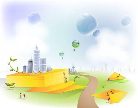 Memo pad, Business digital graphic