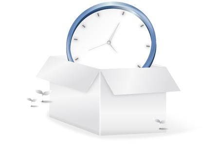 Clock in a box