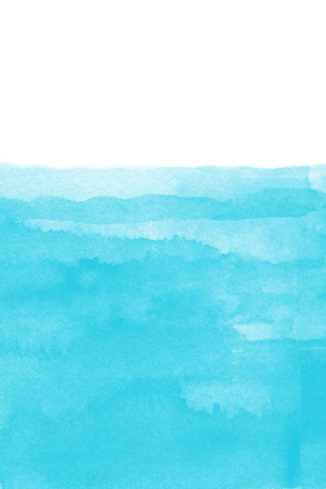 Background of blue watercolor. 일러스트