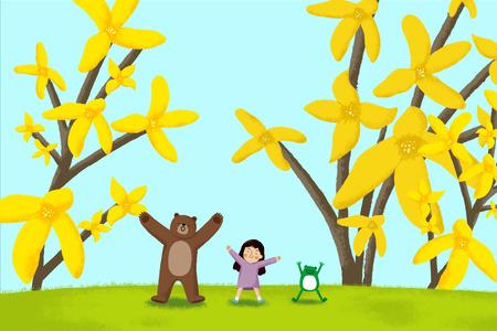 Happy Spring Children002.
