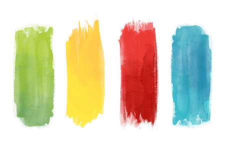 Background of watercolors
