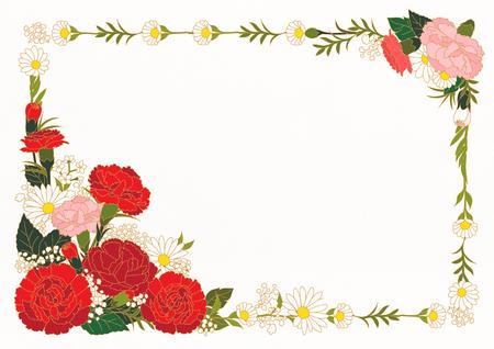 Floral Frame Vectors
