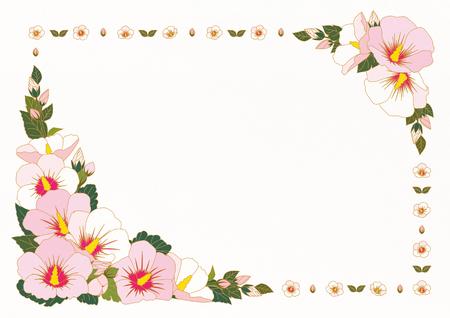Floral Frame Vector illustration. 向量圖像