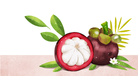 Fruit and plant design, expression of summer