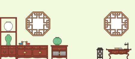 Koreaanse traditionele patroonachtergrond