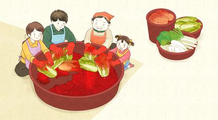 kimjang, kimchi-making for the winter 001