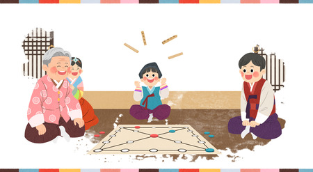 In Chuseok, spending time with family.