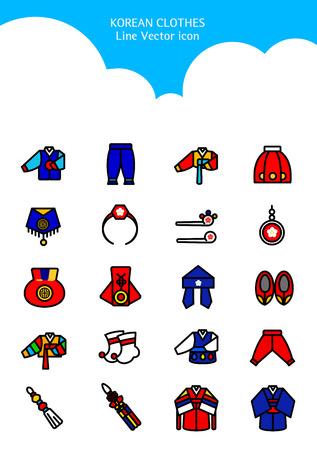 Set van pictogram - symboliseert zomer en herfst.