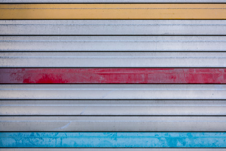 Striped yellow, Red and Blue background