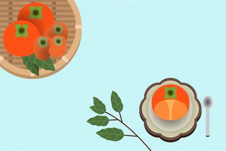 Korean traditional refreshments 일러스트