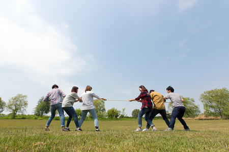 Group Harmony Concept Photo - Teamwork and Friendship Togetherness Happiness Concept. 124 Stock Photo