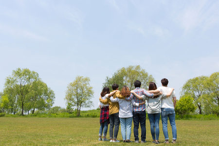Group Harmony Concept Photo - Teamwork and Friendship Togetherness Happiness Concept. 020