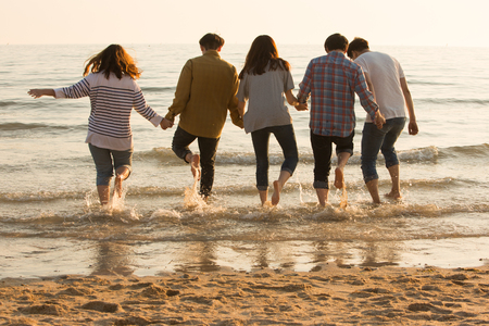 Group Harmony Concept Photo - Teamwork and Friendship Togetherness Happiness Concept. 249 Standard-Bild