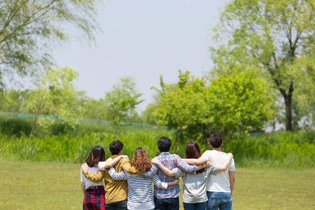 Group Harmony Concept Photo - Teamwork and Friendship Togetherness Happiness Concept. 036