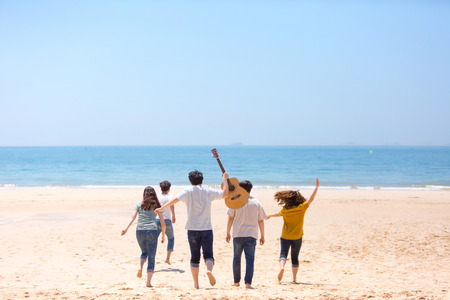 Photo de concept d'harmonie de groupe - Concept de bonheur de travail d'équipe et d'amitié. 444 Banque d'images - 94849928