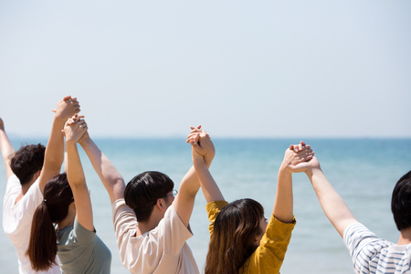 Group Harmony Concept Photo - Teamwork and Friendship Togetherness Happiness Concept. 405 Stock Photo