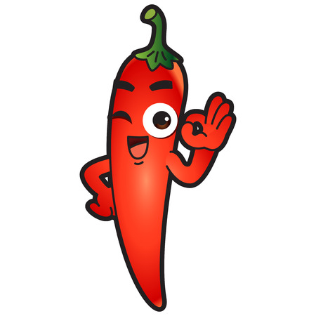 Vector - Cute vegetable cartoon characters isolated in white. 035 Illustration