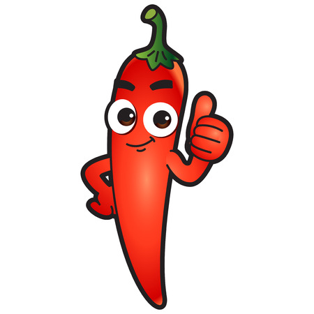 Vector - Cute vegetable cartoon characters isolated in white. 036