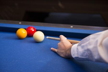 RF photo - object of billiards, cue, billiards balls 108