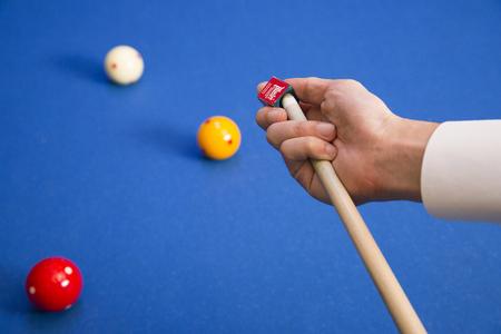 RF photo - object of billiards, cue, billiards balls 113 Archivio Fotografico