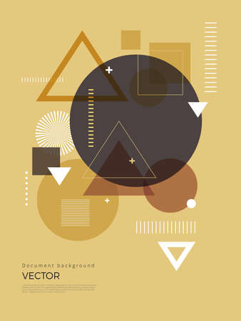 Geometric Abstract background