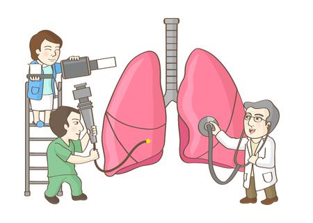 Vector - illustration for Annually for medical check-ups. 007 Illustration