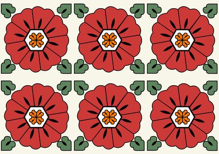 Retro vector seamless pattern design. Set of monochrome geometric ornaments. 029