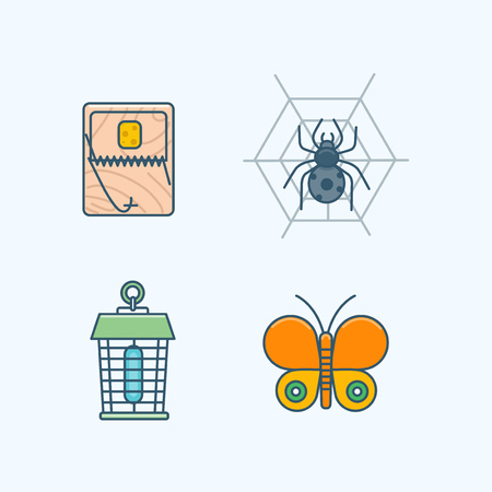 Vector - Set of Pets Related Vector Icons. Flat vector related icon for web and mobile applications 018