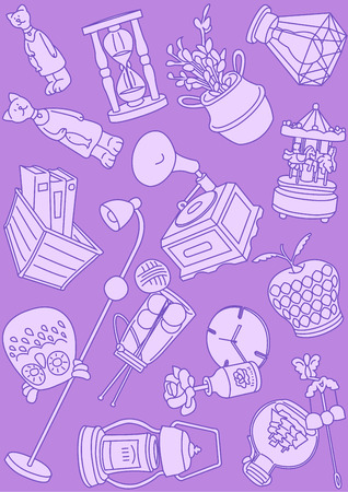 Vector - Seamless pattern vector illustration colorful background 014  イラスト・ベクター素材