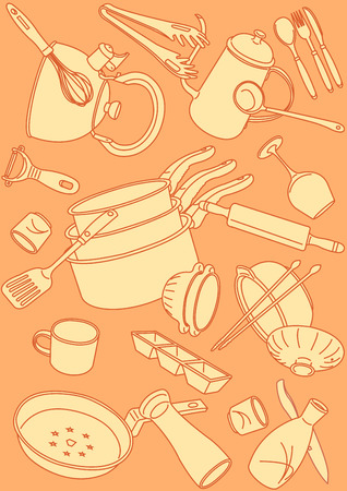 Vector - Seamless pattern vector illustration colorful background 001