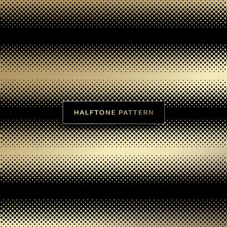Vector - Halftone design elements. gradient seamless background vector illustration. 068