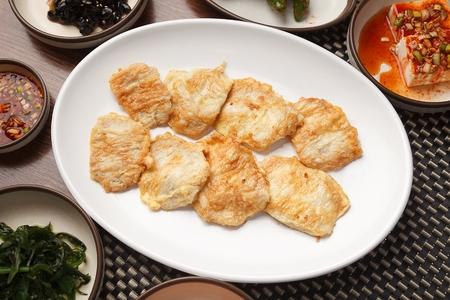 Pan-fried fish fillet, Korean cuisine Jeon