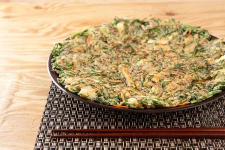 Leek pancakes, Korean cuisine Jeon