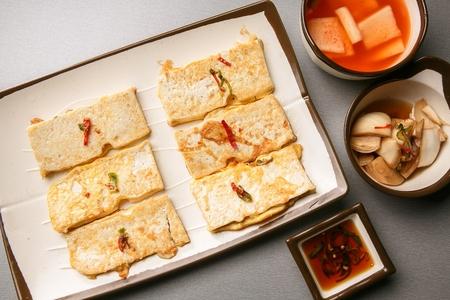 Tofu pancakes, Korean cuisine Jeon