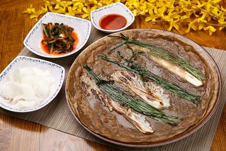 Buckwheat pancakes, Korean cuisine Jeon