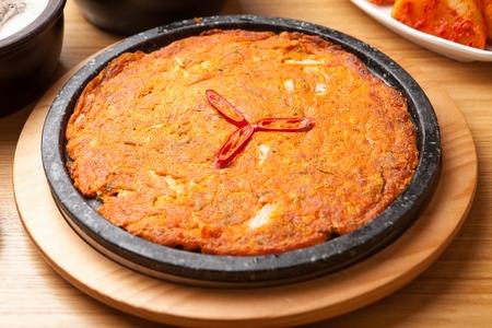 Kimchi Pancakes, Korean cuisine Jeon
