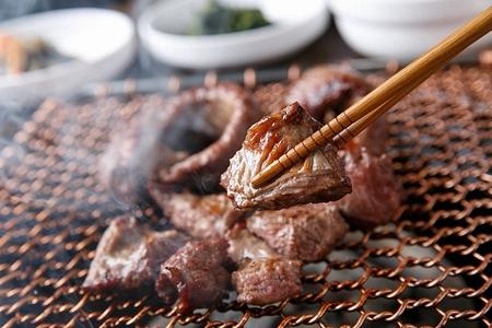 Korean barbecue Galmegi Sal, pork skirt meat Stock fotó
