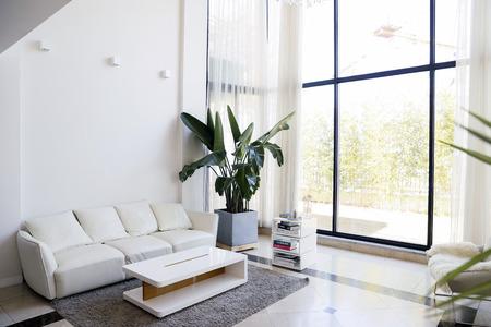 Modern space interiors design stock photo. living room, office room, restaurant and hair salon. 034 스톡 콘텐츠