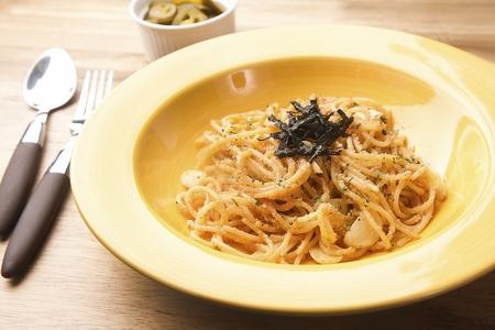 Pollack spawn oil pasta