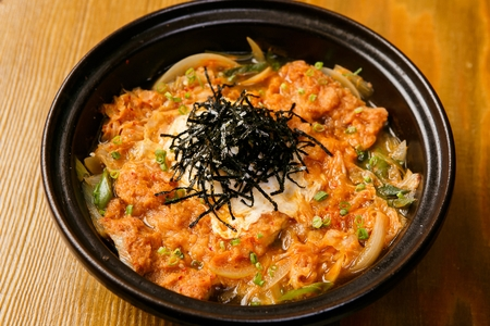 Katsudon kimchi nave