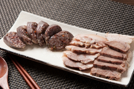 Korean sausages, Sundae