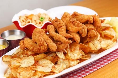 Korean-style Boneless chicken Banque d'images - 108321266