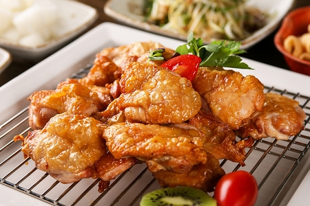 Korean-style Boneless chicken Banque d'images - 108267983