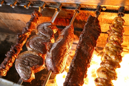Churrasco, grilled beef