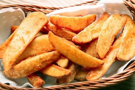 wedge potato fries
