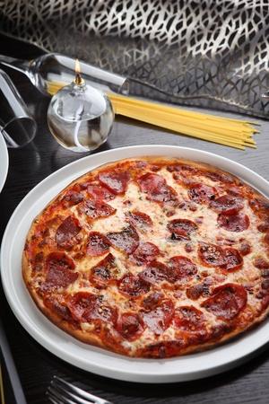 diabolo pizza Banque d'images - 108187181