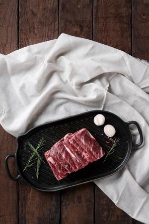 Beef Chuck Flap Tail (Salchi Sal) Stock fotó - 108256093