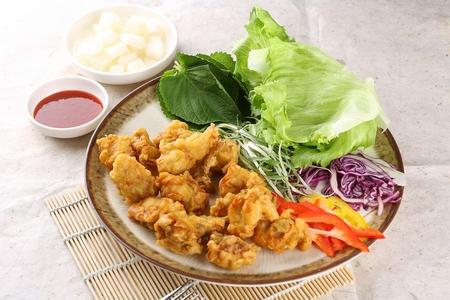 Boneless Seasoned Chicken Banque d'images - 109254242